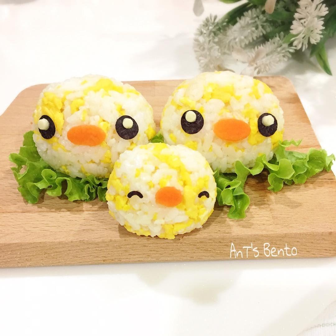 Duckies??  by AnT's Bento (@antsbento)