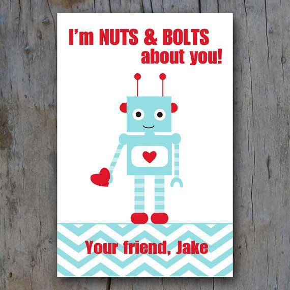 The Pitter Patter Press Custom Valentines Are Printable Please