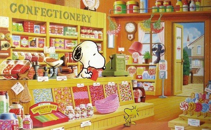 Snoopy & Woodstock