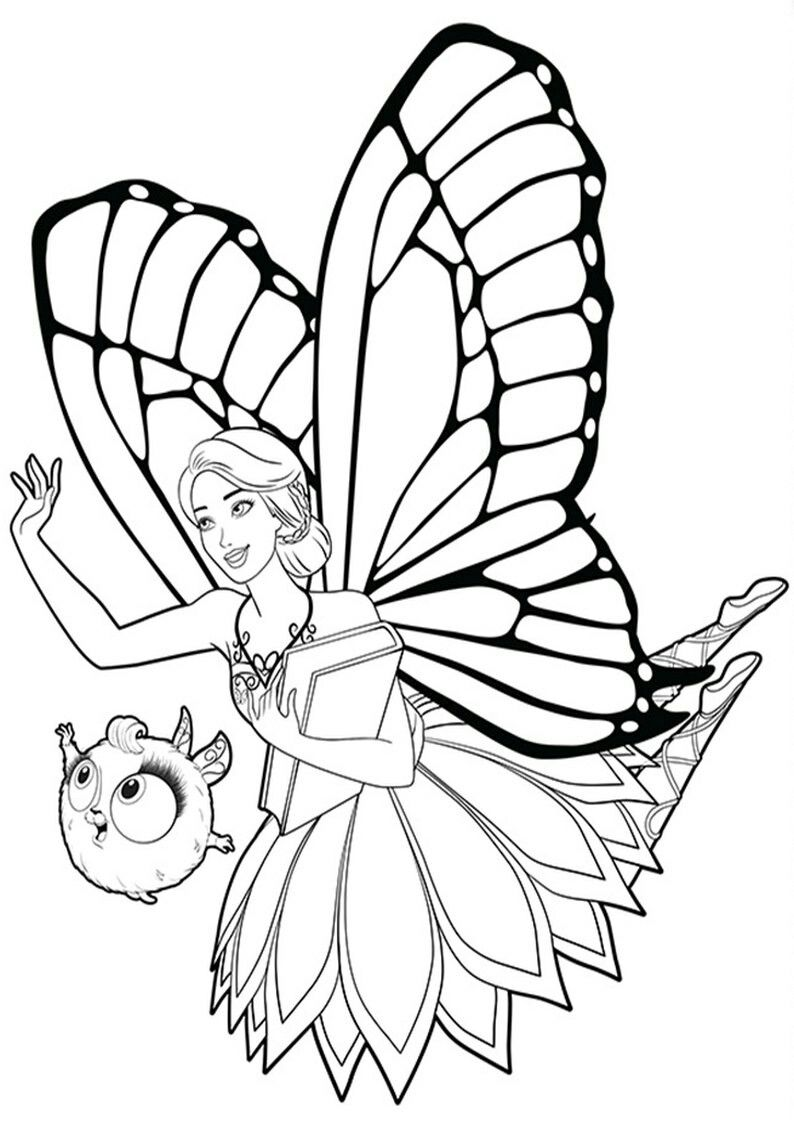 Pin By Shabssh On Kids Barbie Coloring Drawings Coloring Pages