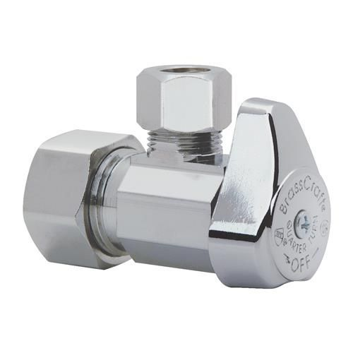 Royal Hh Modern Angle Stop Valve Shut Off Quarter Turn Water Bathroom Toilet Kitchen Shower Plumbing Commercial 1 Plumbing Accessories Shower Plumbing Plumbing