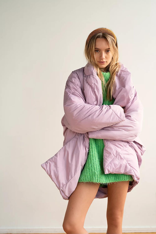 Ella Puffer Coat Puffer Coat Fall Coat Outfit Free People Jacket [ 1500 x 1000 Pixel ]