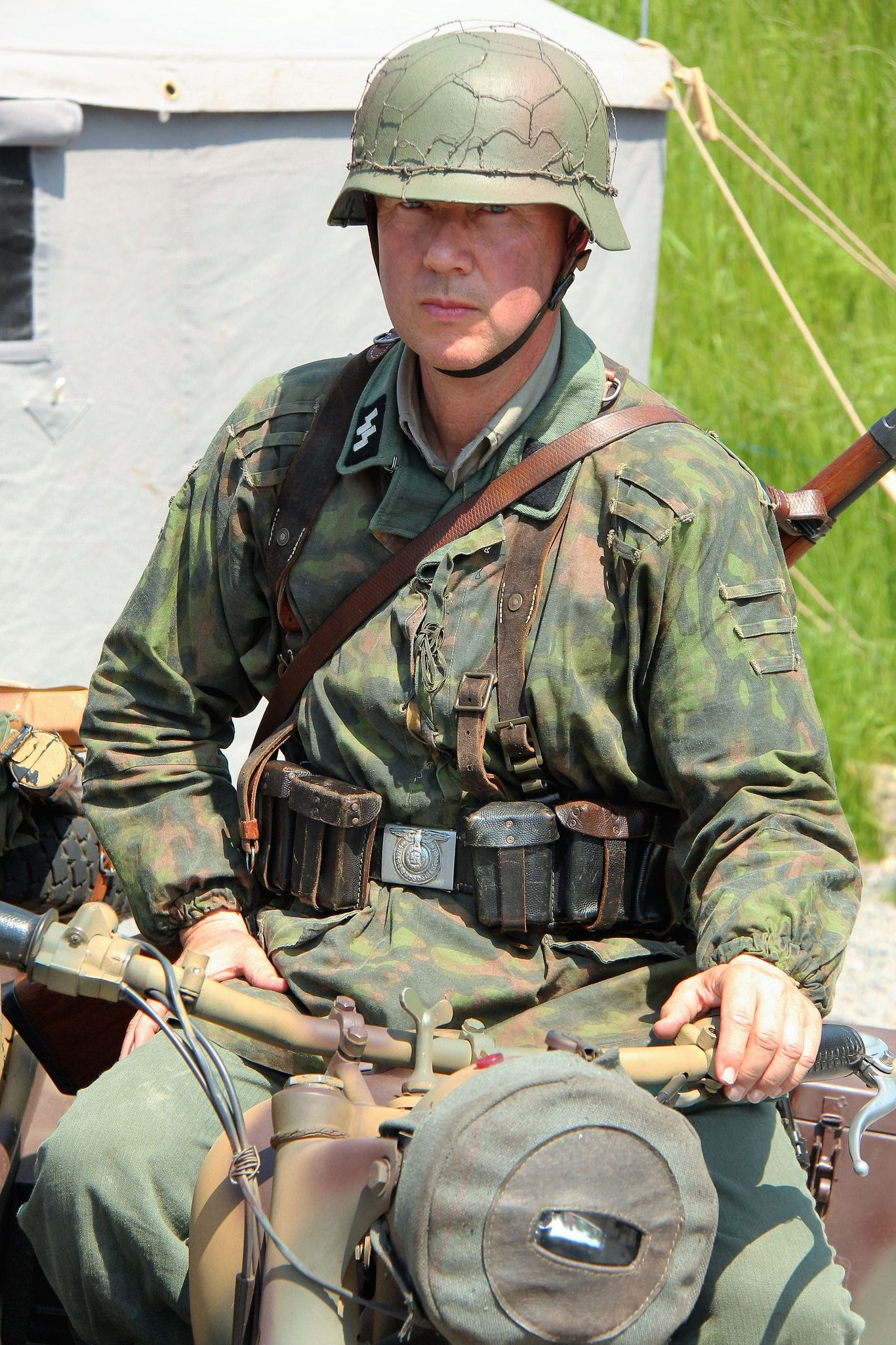 German World War 2 Reenactment Uniforms - Year of Clean Water