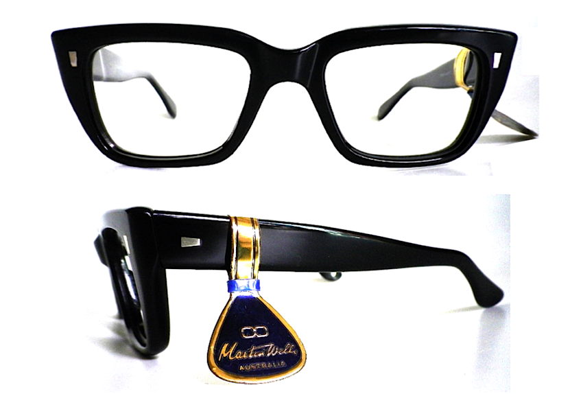 Martin Wells 727 Black Chic frame with hanging tag | Frames we love ...