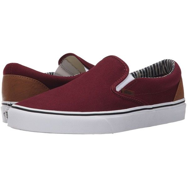 Vans Classic Slip On ((C&L) Port RoyaleStripe Denim) Skate