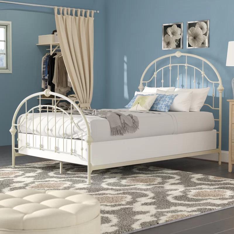 Three Posts Ackerman Standard Bed Wayfair In 2020 Upholstered Storage Iron Bed Furniture