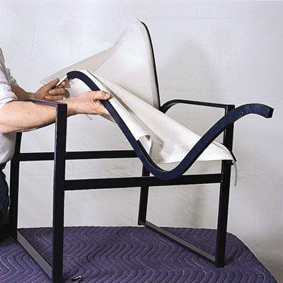 how to repair aluminum patio chairs diy metal patio chairs rh pinterest com