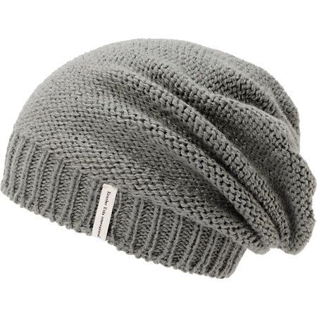 1d1f93d70d6 Improve your wardrobe while supporting a good cause and grab a Krochet Kids  Ford grey slouch beanie. Instantly improve any outfit in a handmade crochet  knit ...