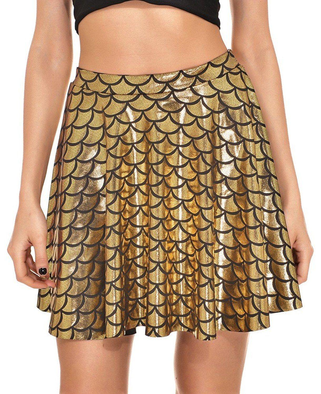 Sipaya Women s Summer Short Mermaid Tennis Pleated Flare Skirt at Amazon  Women s Clothing store  796e7ba2a8dc