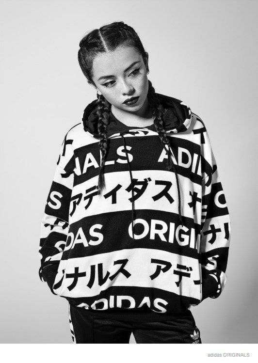 online store 3b8e2 6a754 adidas Originals Gets Graphic with Typo Monogram Collection