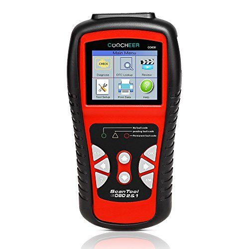 Automotive Scan Tool >> Coocheer Car Obd Ii Scanner Auto Scan Tool With Color Screen