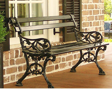 The Charleston Battery Bench South Carolina Homes Seater