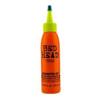 Tigi Bed Head Straighten Out 98 Humidity Defying Straightening Cream 120ml 4oz Hair Gelbed