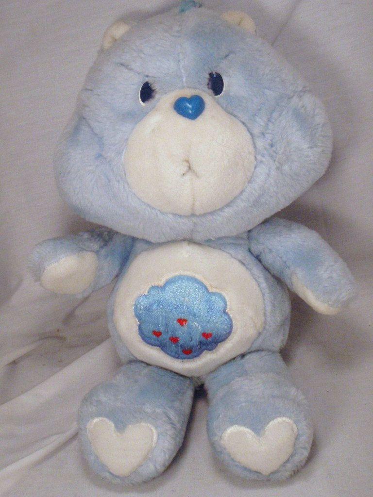 grumpy bear care bears 13 inch plush pastel blue from the 80 s you rh pinterest com