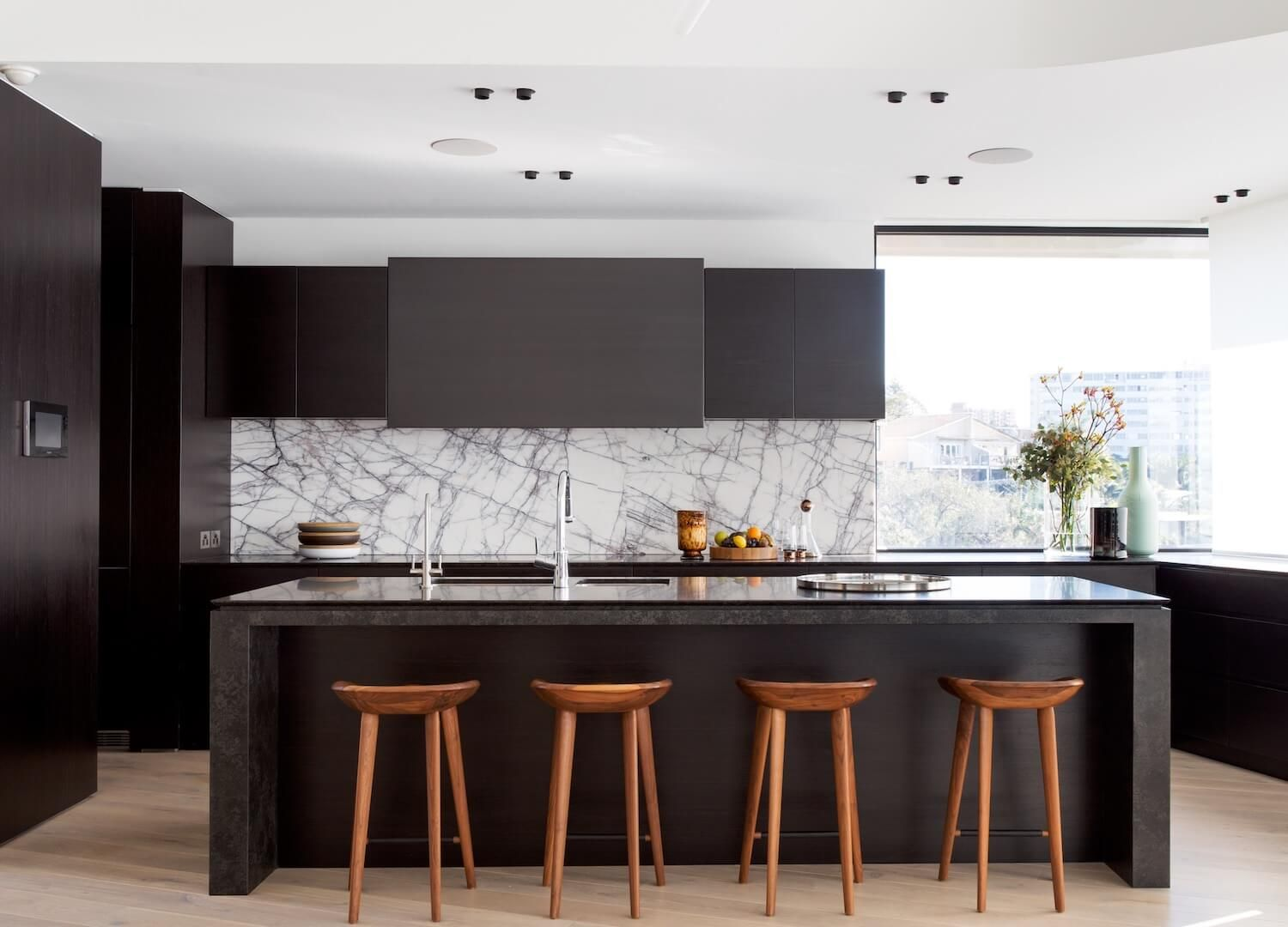 Kitchen Tamarama Home by Porebski Architects