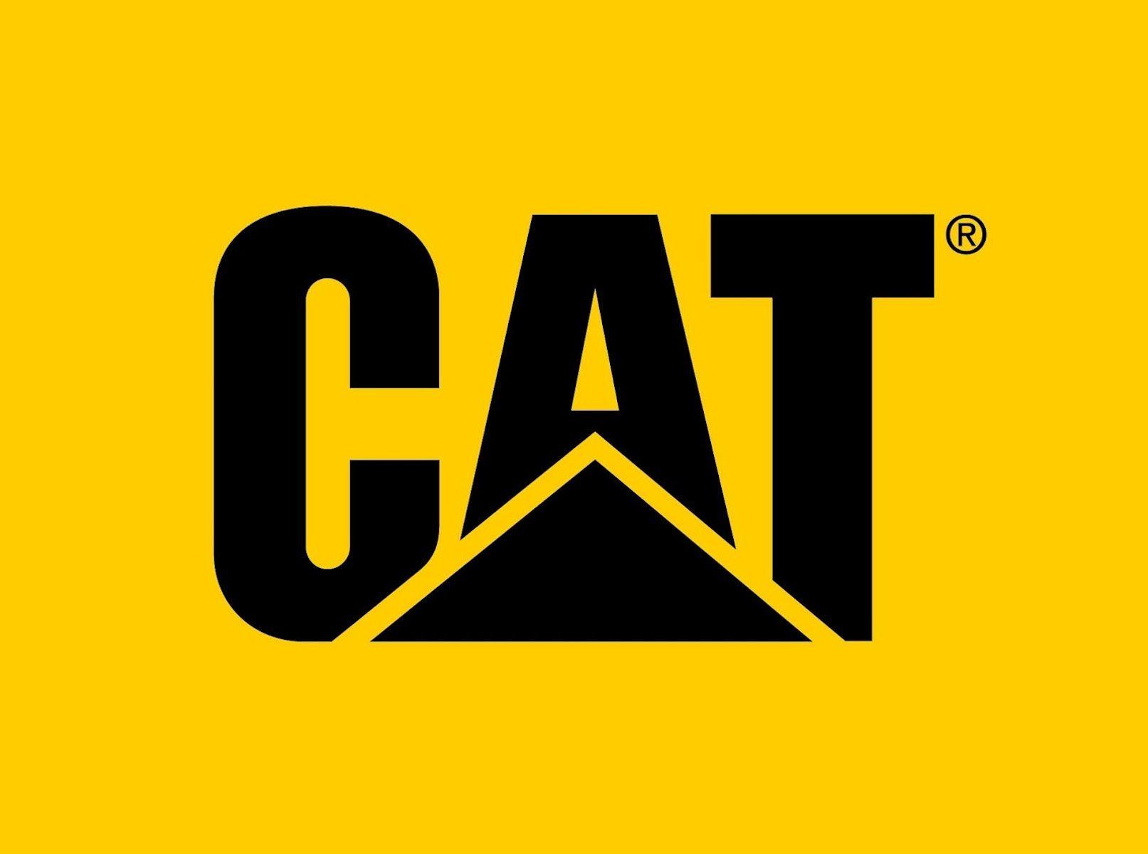 Caterpillar Logo Hd Wallpaper Wallpaper Details Calcomanias Para Coches Calcomania Para Auto Dibujos De Maquinas