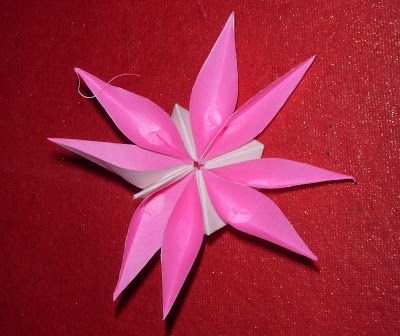 Origami 8 petal flower origami challenges bring it on flower origami 8 petal flower mightylinksfo