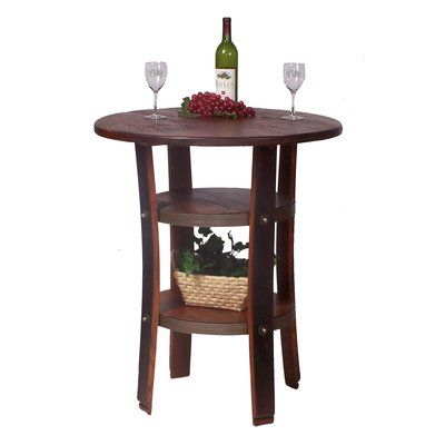 2 Day Counter Height Pine Dining Table | Wayfair