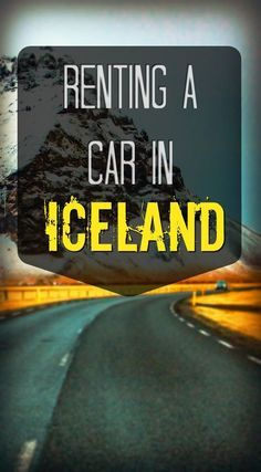 Renting a car is the best way to explore Iceland. These are all the tips you will need to have the ultimate road trip experience in the 'Land of Ice and Fire'!