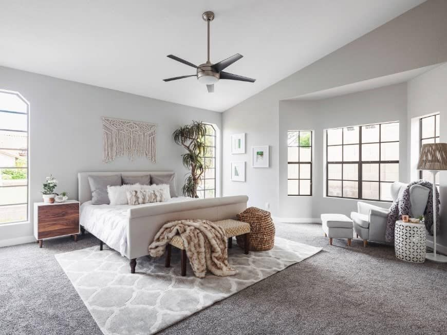 70 Gray Master Bedroom Ideas Photos With Images Grey Walls And Carpet Gray Master Bedroom Light Grey Walls