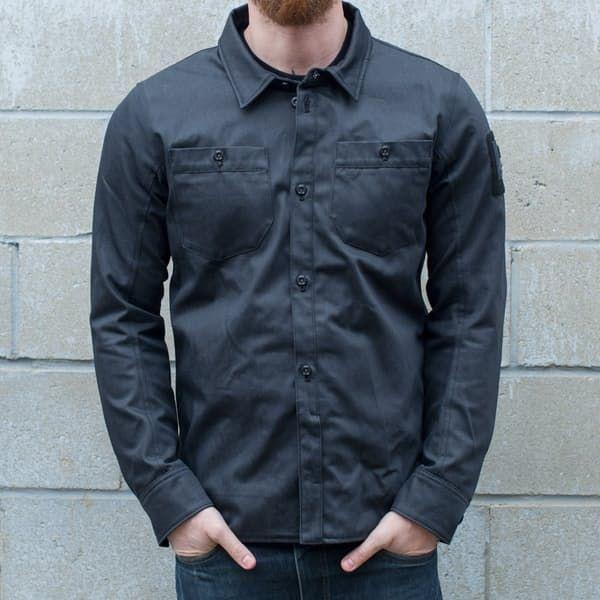 Motorcycle Jacket Overshirt REVIT WESTPORT size L