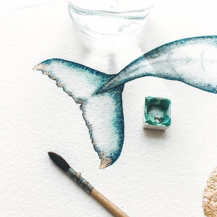 Enchanting Watercolor Whale Paintings Capture the Magic of Ocean Life