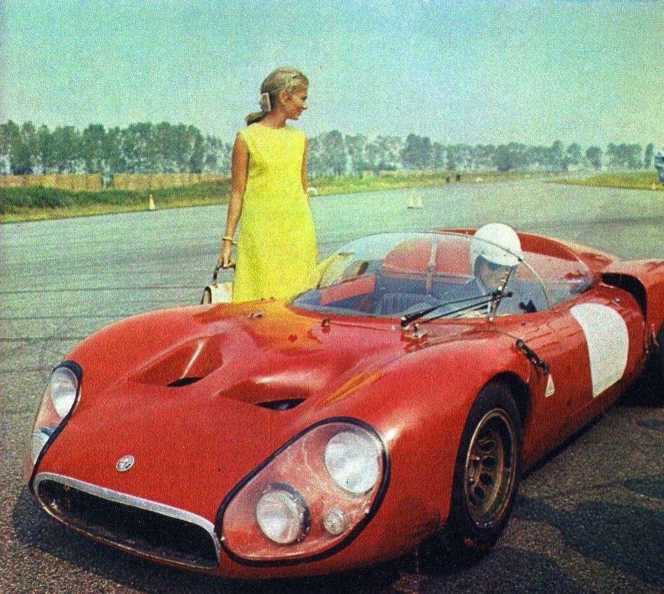 Alfa Romeo T33 'Periscopica', With Prince Albert And