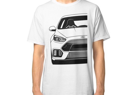 Ford Focus Rs Mk3 Best Shirt Design Classic T Shirt By Carworld