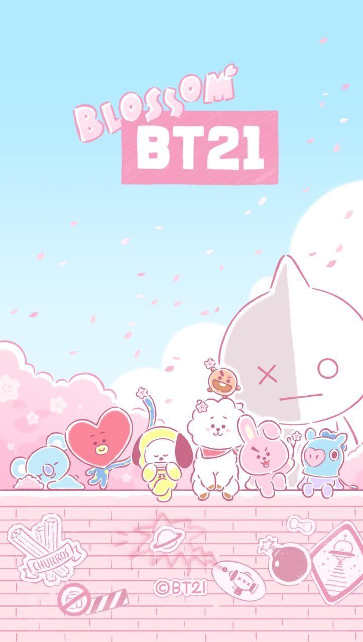 Ah This Is So Cute Gunna Use It Ddd Bt21 3 Bts Wallpaper Anime Wallpaper Iphone Bts Fanart