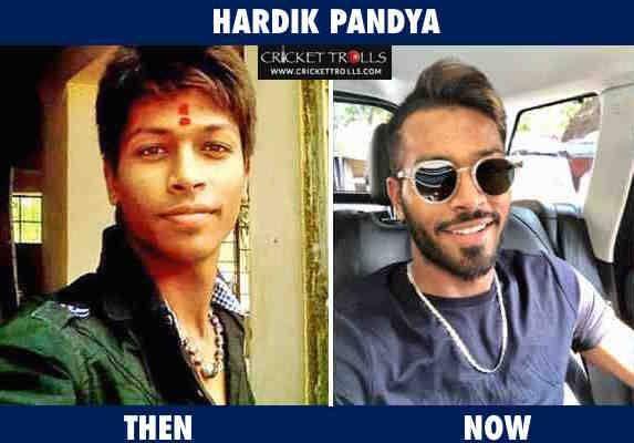 Hardik Pandya Then Now Http Ift Tt 1zz3e4d Latest Cricket News Chennai Super Kings Cricket Teams