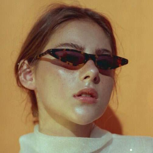 Child Size Girls Mod Gothic Cat Eye Retro Plastic Sunglasses