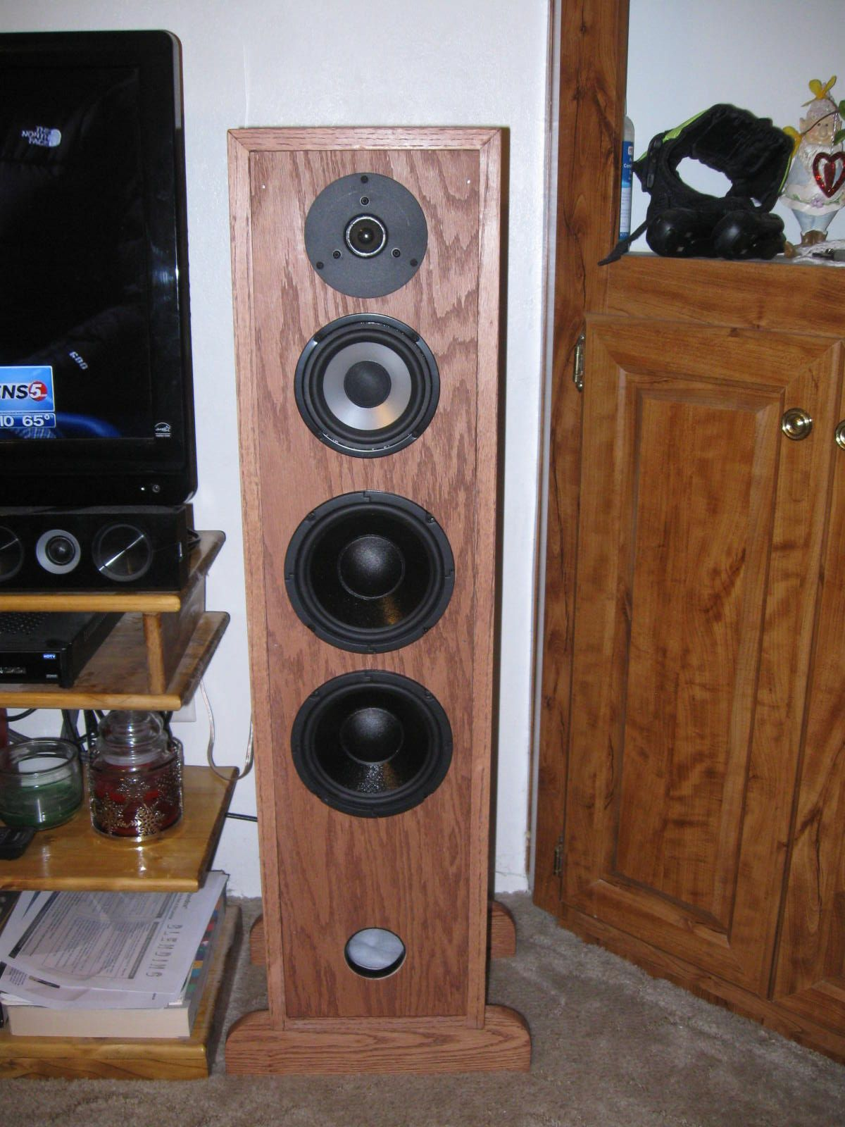 I am also a little into speaker building