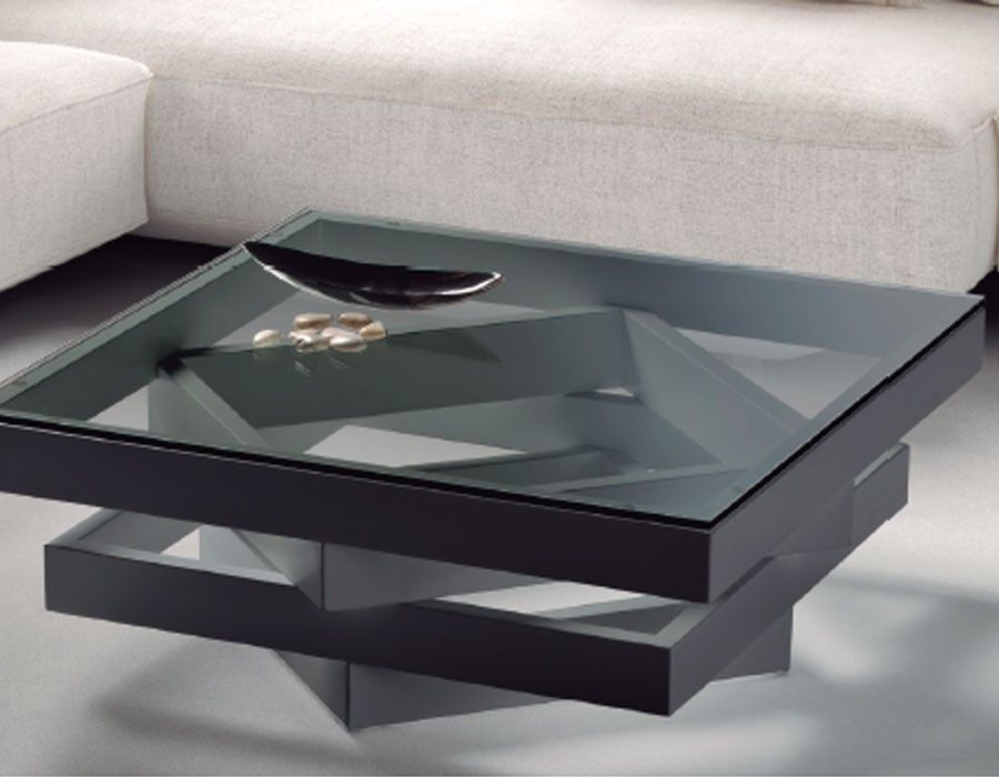 Table Basse Carree Design En Verre Esther Coloris Au Choix Table Basse Carree Table Basse Table Basse Carree Bois