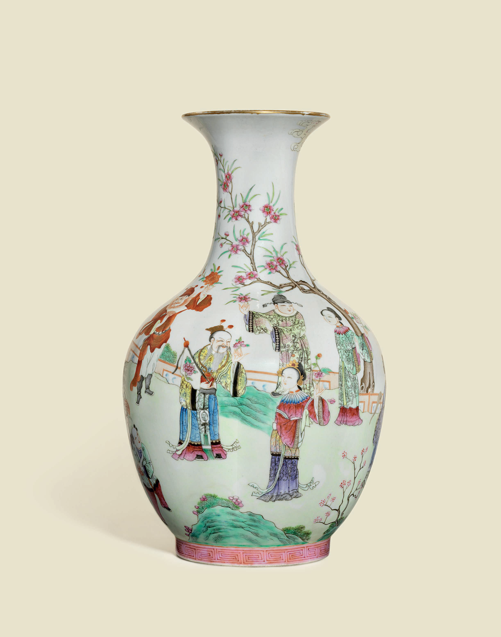 A rare and finely painted famille rose flower spirits baluster a rare and finely painted famille rose flower spirits baluster vase daoguang six reviewsmspy