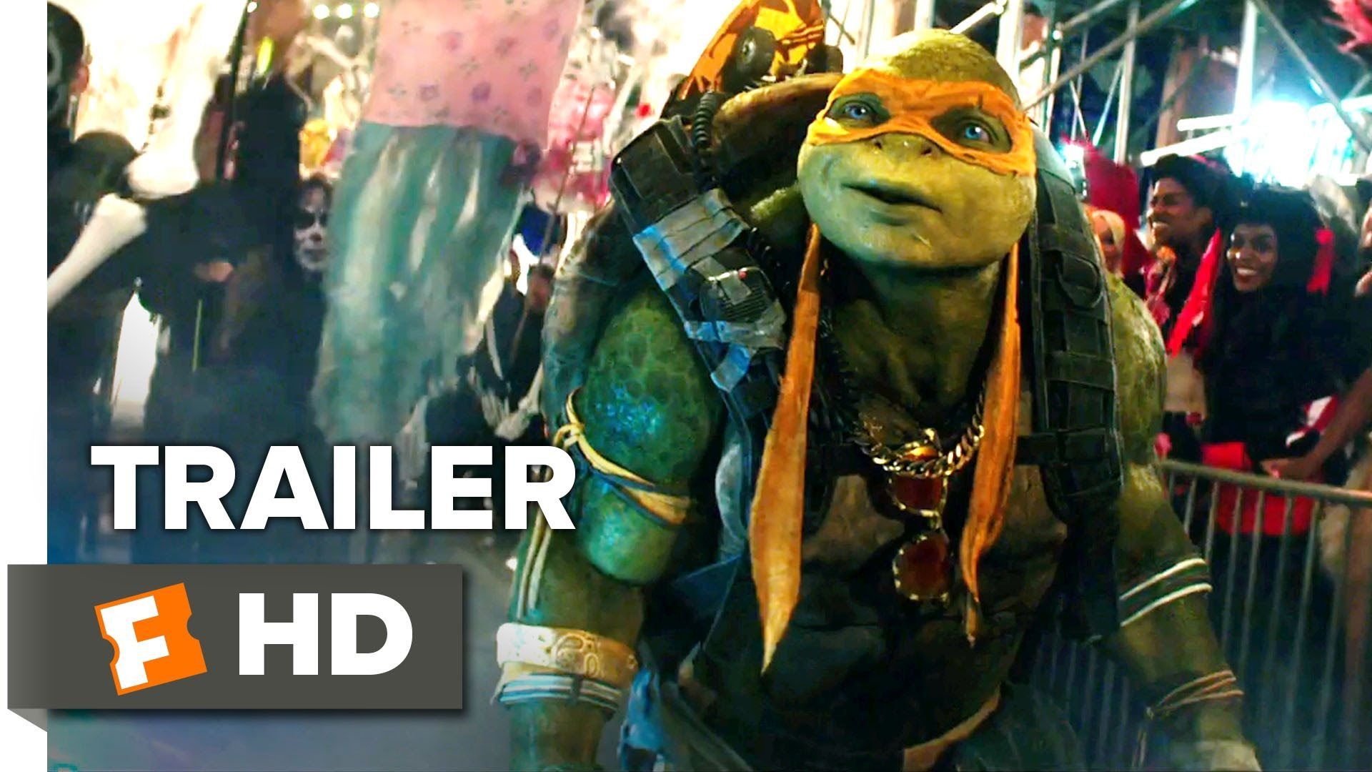 Teenage Mutant Ninja Turtles Out of the Shadows Official