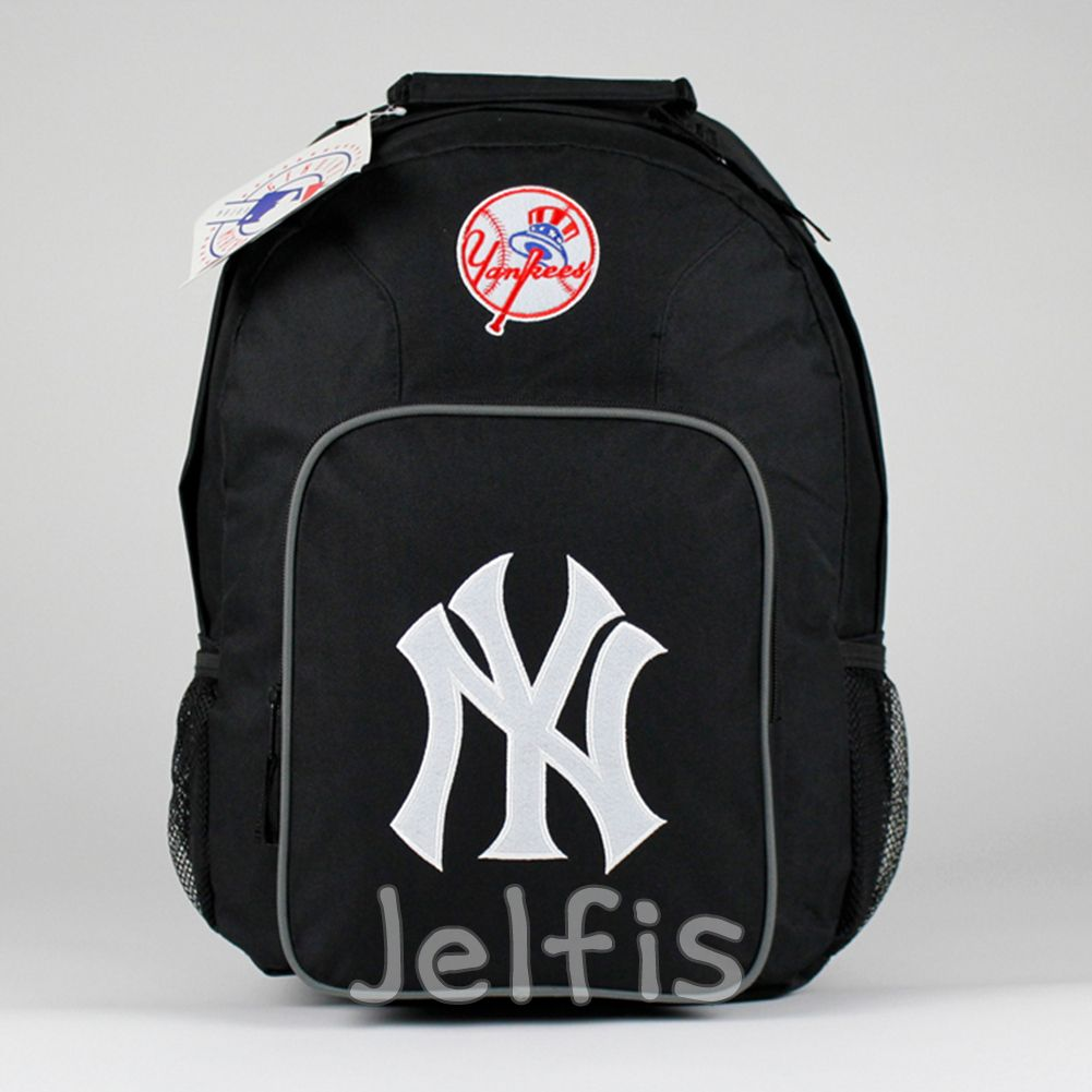 16' Large MLB New York Yankees Logo Backpack - Girls Boys Teen ...