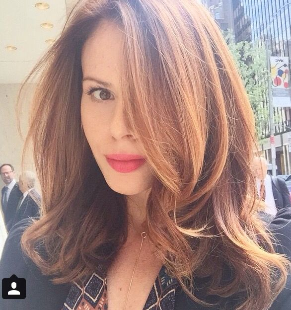 Jill Percia via Instagram Hair/Lob | Hair, Makeup & Nail Looks ...