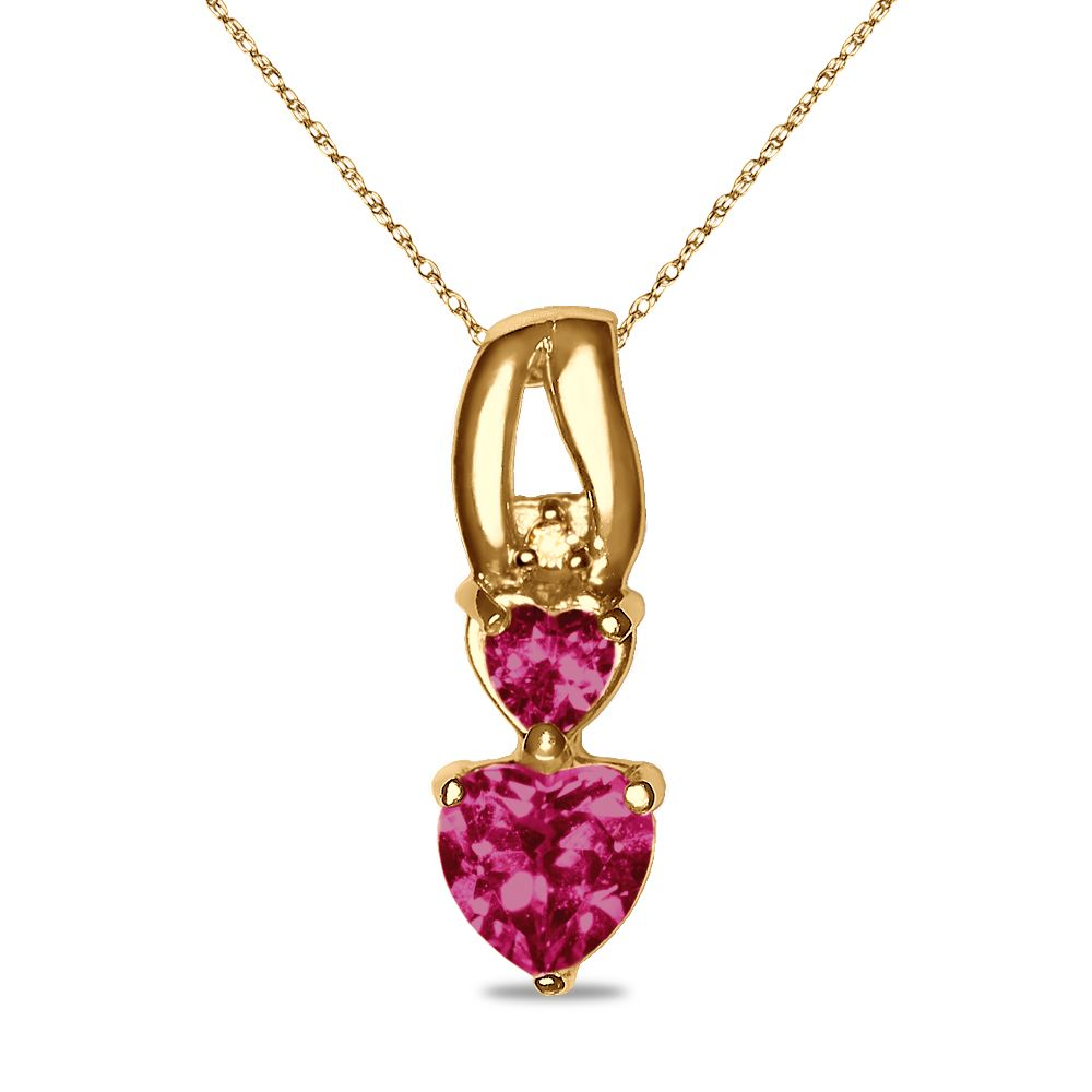 Etsy NissoniJewelry presents - Diamond Accent Created Ruby Pendant in 10k Yellow Gold with 18 Complimentary Chain    Model Number:P7309A-Y077CRU    https://www.etsy.com/ru/listing/275601150/diamond-accent-created-ruby-pendant-in