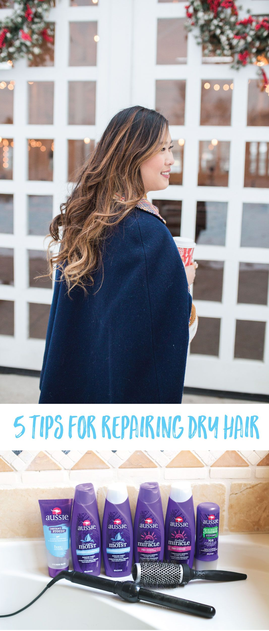 5 Tips For Repairing Dry Hair (With images) Diy hair