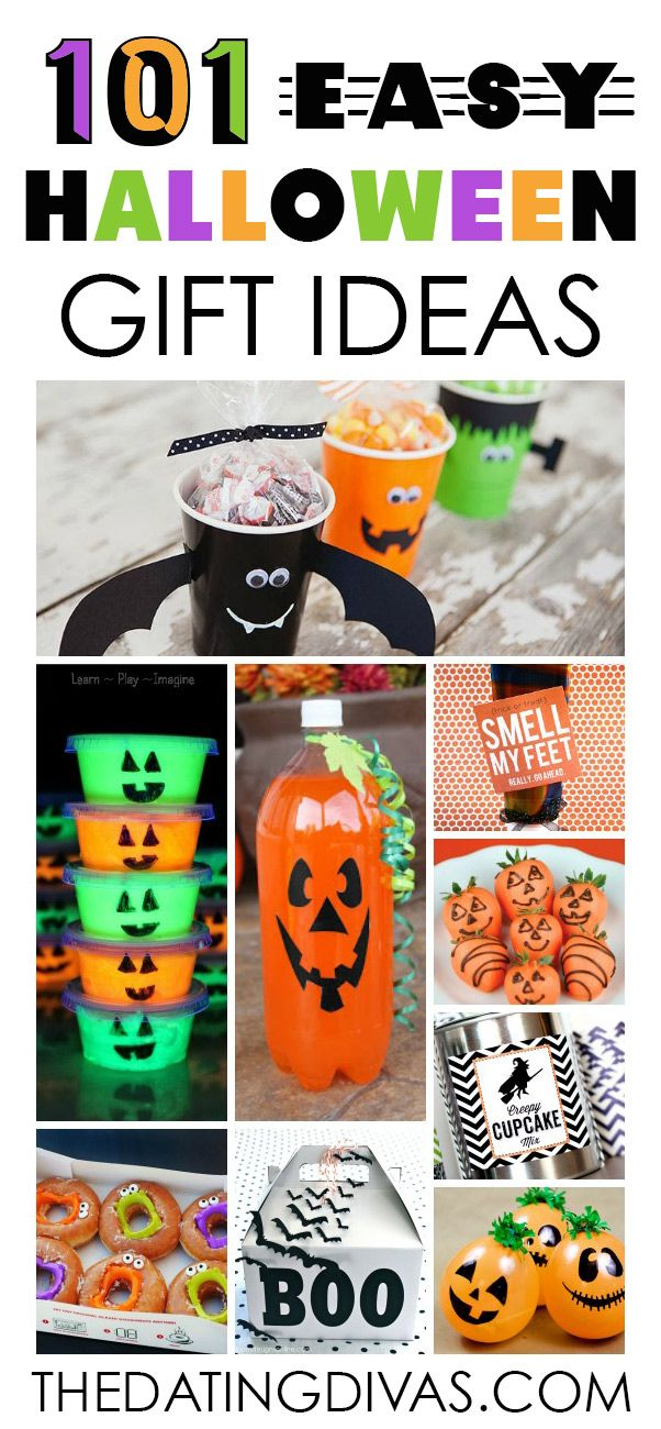 Halloween Gift Ideas That Are Quick  Easy - From Halloween - cute halloween gift ideas