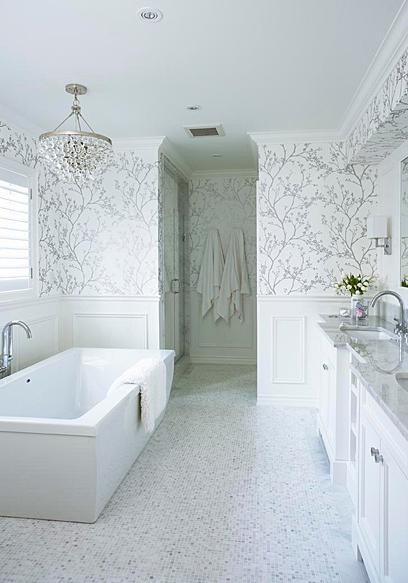 White And Silver Bathroom Ideas. Suzie Jennifer Worts Design Silver Master Bathroom Design With White Silver Bathroom