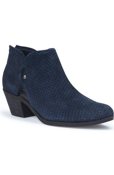 Adam Tucker 'Tate' Perforated Bootie (Women) available at #Nordstrom