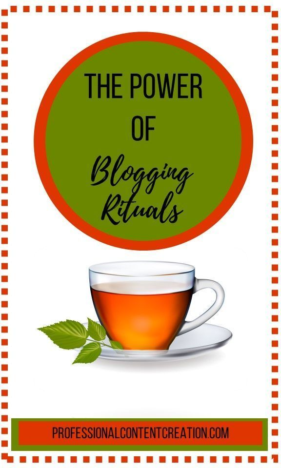 what are blogging rituals   u0026quot ritual u201d is to some extent just