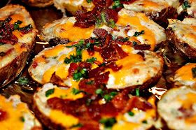 The Journey to Become a Foodie: Twice Baked Potatoes Recipe