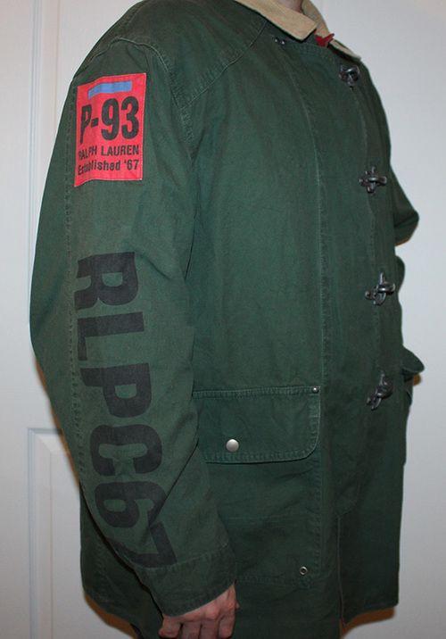 Vintage Polo Ralph Lauren P-93 RLPC67 Fireman Coat  3d4f44725751