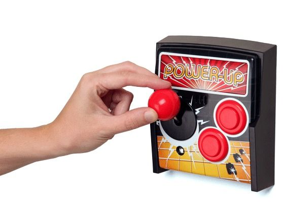 Power Up Arcade Light Switch