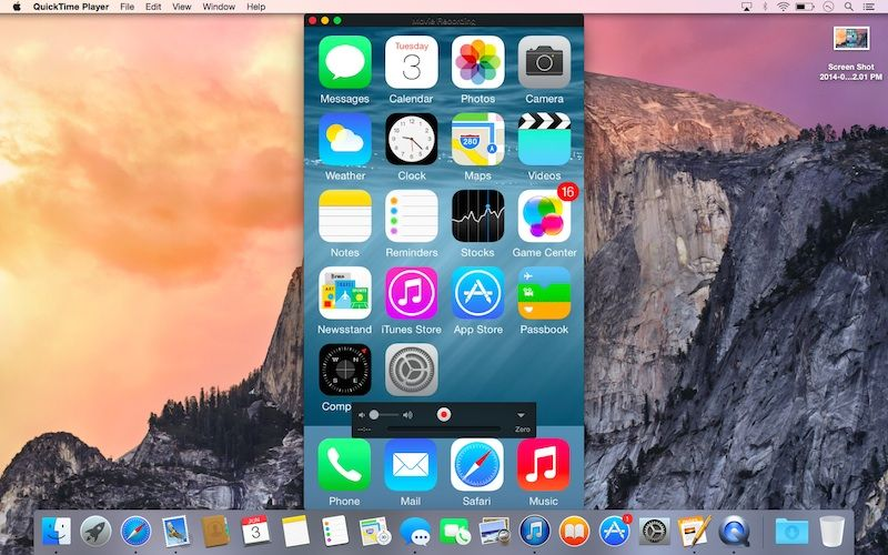 screen record facetime iphone