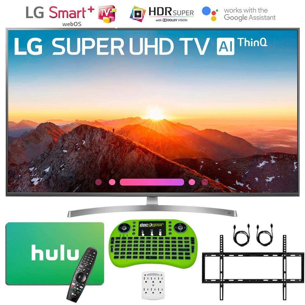 Lg 4k hdr smart led ai super uhd tv with thinq