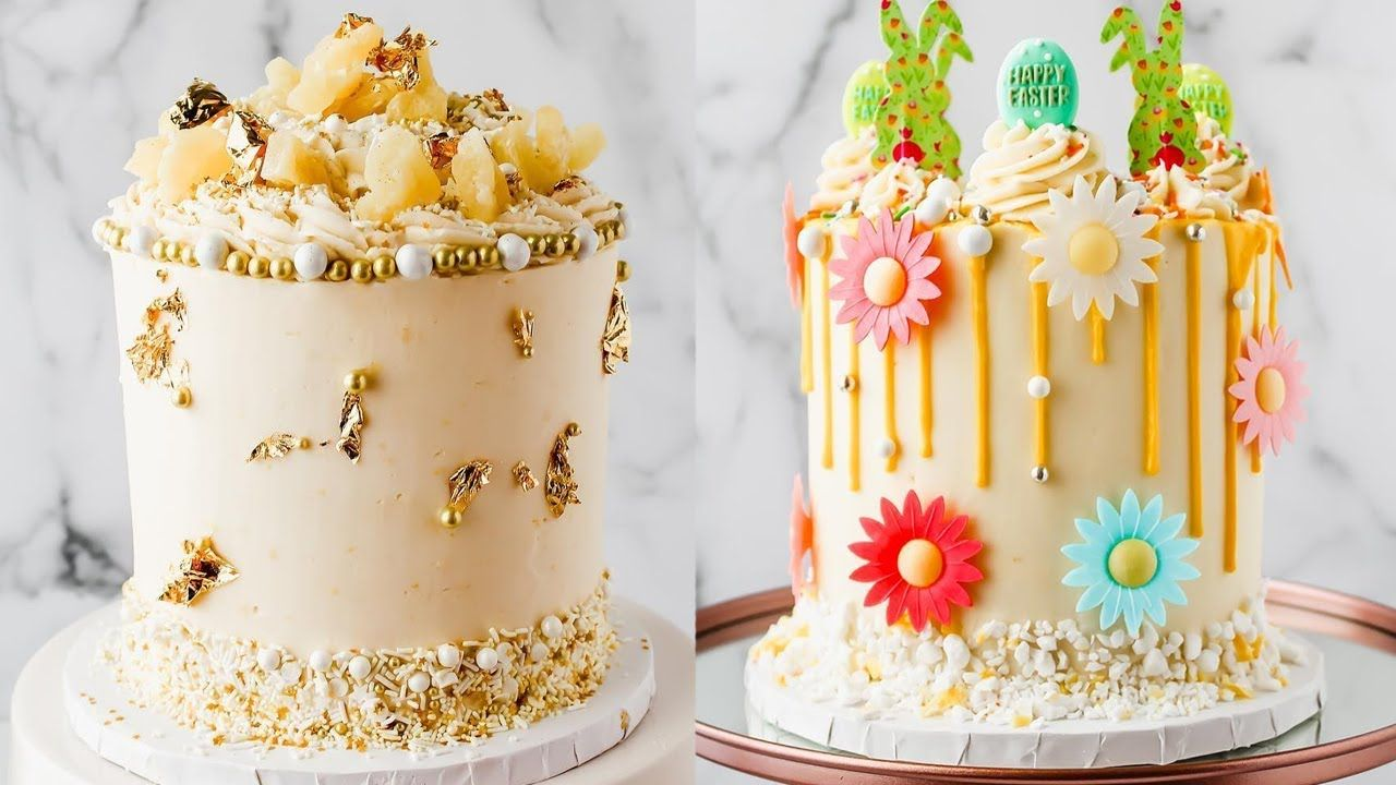 Easy Cake Decorating Ideas For Beginners At Home Amazing Cake