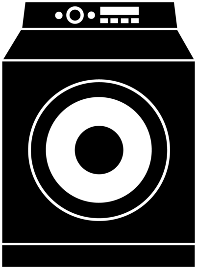 Washing Machine Silhouette Logo Free Clip Art Free Clip Art Clip Art Washing Machine Black